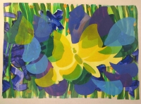 yellow-flutter-2010-acylic-on-canvas-35-x-50-in