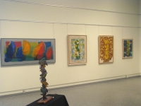 4    North wall with Totem construction    Chilliwack Art Gallery 2014
