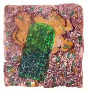 Green Acre 2008 43X42 in. acylic on canvas.ajpg (2)