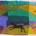 Ring-a-Round-2011-acrylic-on-canvas-21-X-30-in-Copy (Horses Gallery)