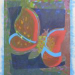 red-lift-2010-acrylic-and-collage-on-canvas-34-x-26in (Butterfly Gallery)